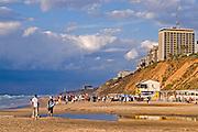 Israel, Natanya, the beach front