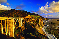 Bixby Bridge, near Big Sur, Monterey County, California USA