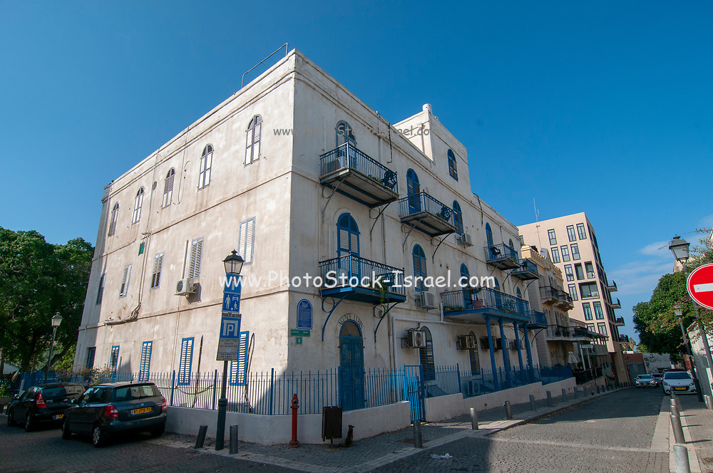 The American Colony of Tel Aviv is located in the south of the Tel Aviv, not far from Jaffa, Historic Beit Immanuel community building