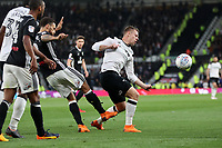 DERBY, ENGLAND - MAY 11: - DCFC vs Fulham. Matej Vydra, in action