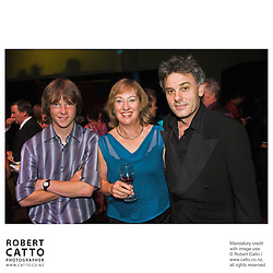Vincent Ward;Ruth Harley at the River Queen Premiere, Wanganui, New Zealand.<br />