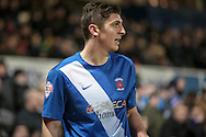 Jake Gray (on loan from Crystal Palace) (Hartlepool United) during the Sky Bet League 2 match between Hartlepool United and Stevenage at Victoria Park, Hartlepool, England on 9 February 2016. Photo by Mark P Doherty.