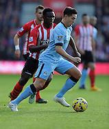 Samir Nasri of Manchester City<br /> - Barclays Premier League - Southampton vs Manchester City - St Mary's Stadium - Southampton - England - 30th November 2014 - Pic Robin Parker/Sportimage