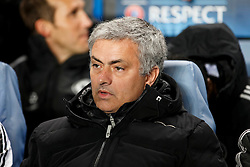 Chelsea Manager Jose Mourinho (POR) looks on - Photo mandatory by-line: Rogan Thomson/JMP - 18/03/2014 - SPORT - FOOTBALL - Stamford Bridge, London - Chelsea v Galatasaray - UEFA Champions League Round of 16 Second leg.
