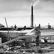 Whyalla , Australia, (SA), 2017:  View of Steelworks factory at Whyalla, in the Upper Spencer Gulf, South Australia. Signed and editioned prints available at 50x40cm. Get and touch, for commercial uses or other sizes.. Photographs by Alejandro Sala | Visit Shop Images to purchase and download a digital file and explore other Alejandro-Sala images…