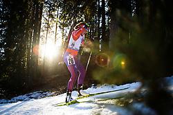 Susan Dunklee (USA) during Women 12.5 km Mass Start at day 4 of IBU Biathlon World Cup 2015/16 Pokljuka, on December 20, 2015 in Rudno polje, Pokljuka, Slovenia. Photo by Ziga Zupan / Sportida