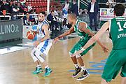 DESCRIZIONE : Avellino Lega A 2015-16 Sidigas Avellino Banco di Sardegna Sassari<br /> GIOCATORE : Rok Stipcevic<br /> CATEGORIA : palleggio<br /> SQUADRA : Banco di Sardegna Sassari<br /> EVENTO : Campionato Lega A 2015-2016 <br /> GARA : Sidigas Avellino Banco di Sardegna Sassari<br /> DATA : 09/11/2015<br /> SPORT : Pallacanestro <br /> AUTORE : Agenzia Ciamillo-Castoria/A. De Lise <br /> Galleria : Lega Basket A 2015-2016 <br /> Fotonotizia : Avellino Lega A 2015-16 Sidigas Avellino Banco di Sardegna Sassari
