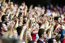 August 20, 2017 - Lille, France, France - supporters du LOSC (Credit Image: © Panoramic via ZUMA Press)