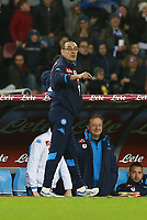 Maurizio Sarri Napoli,  <br /> Napoli 05-03-2016 Stadio San Paolo<br /> Football Calcio Serie A 2015/2016 Napoli - Chievo<br /> Foto Cesare Purini / Insidefoto