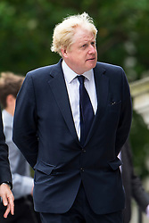 © Licensed to London News Pictures. 07/07/2015. London, UK. London Mayor BORIS JOHNSON. A church service held at St Paul's Cathedral In London on the 10th anniversary of the 7/7 bombings in London which killed 52 civilians and injured over 700 more.  Photo credit: Ben Cawthra/LNP