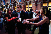 TRACEY EMIN; YVES BEHAR; SARAH MILLER, Conde Nast Traveller Innovation and Design Awards. St. Pancras Renaissance Marriot Hotel. London. 10 May 2011. <br /> <br />  , -DO NOT ARCHIVE-© Copyright Photograph by Dafydd Jones. 248 Clapham Rd. London SW9 0PZ. Tel 0207 820 0771. www.dafjones.com.