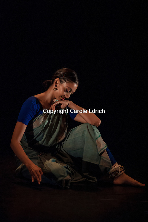 An intimate evening of dance and music from South India, featuring an orchestra of Carnatic musicians. After her solo work she will offer a rare opportunity to see seasoned dancer and musician Pushkala Gopal in an up-close presentation of song and abhinaya, the concept of facial expression in Bharatanatyam which is used to lead the audience towards a sentiment. From the Wild Card series.