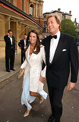 MISS MARINA HANBURY and MR ROBIN HURLSTONE former partner of Joan Collins at the NSPCC's Dream Auction held at The Royal Albert Hall, London on 9th May 2006.<br /><br />NON EXCLUSIVE - WORLD RIGHTS