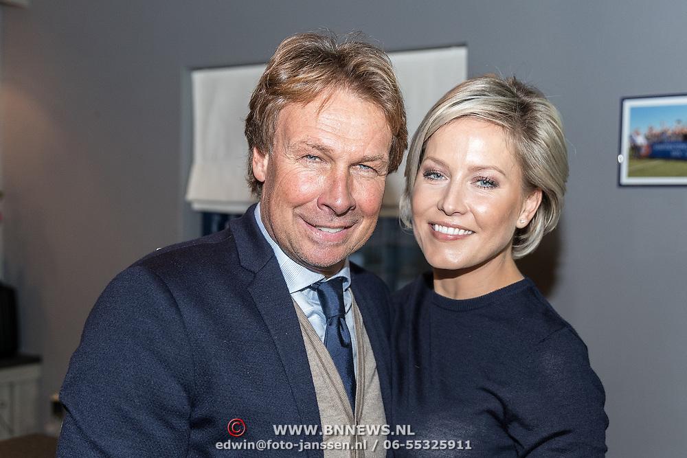 NLD/Lienden20161025 - Boekpresentatie Hans Kraay, Hans en partner Sofie Nuijten