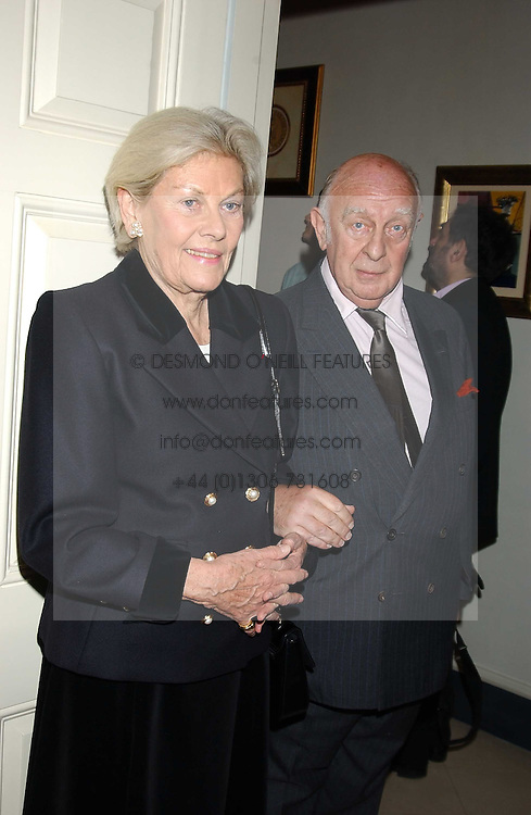 PRINCE & PRINCESS RUPERT LOWENSTEIN  at a Conservative Party Reception for the Art held at 24 Thurloe Square, Lndon SW7 on 5th April 2005.<br /><br />NON EXCLUSIVE - WORLD RIGHTS