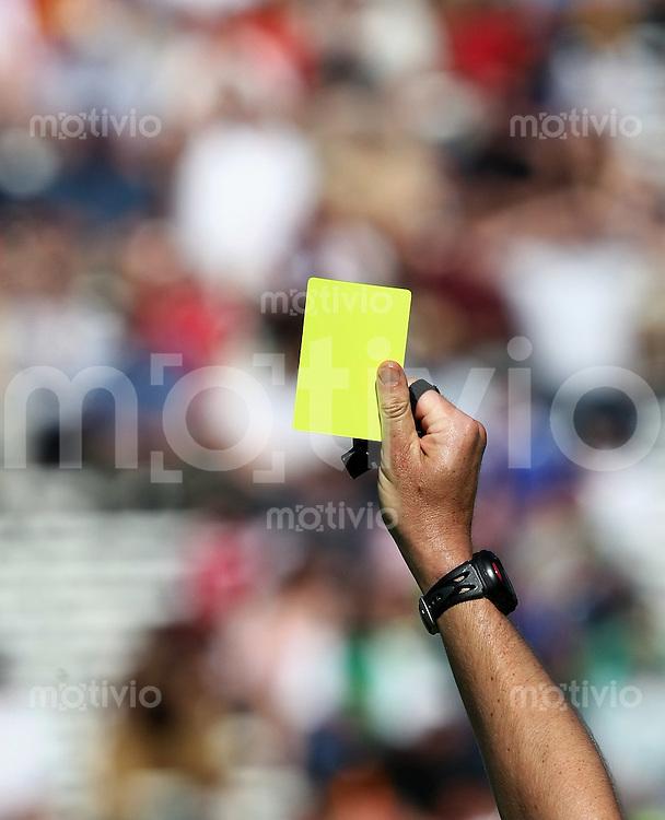 Fussball International U 20 WM  Uruguay 1-0 Jordanien Gelbe Karte
