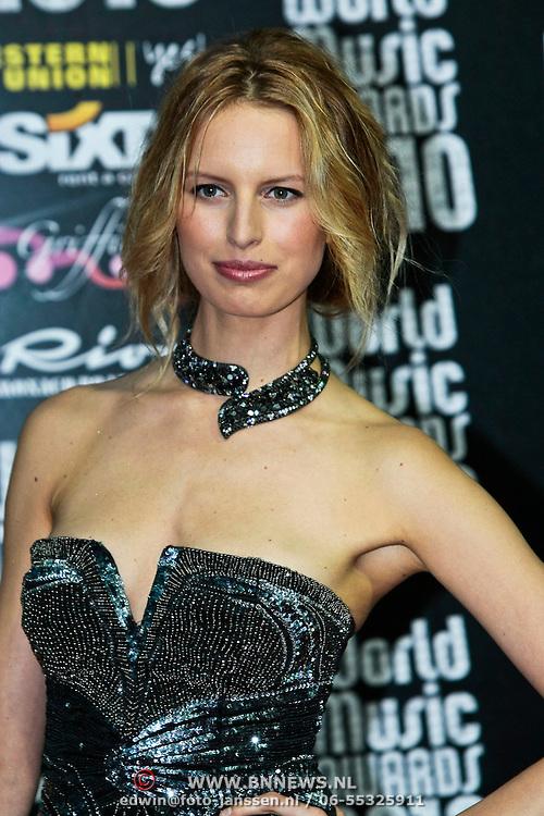 MON/Monte Carlo/20100512 - World Music Awards 2010, Karonlina Kurkova