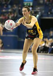 Wasps Netball's Rachel Dunn during the Vitality Netball Superleague Super Ten match held at Arena Birmingham.