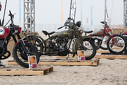 RSD Moto Beach Classic custom bike show. Huntington Beach, CA, USA. Saturday October 27, 2018. Photography ©2018 Michael Lichter.