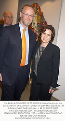 The EARL & COUNTESS OF ST.ANDREWS he is the son of the Duke of Kent, at a party in London on 20th May 2003.PJU 133