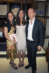 Left to right, PIPPA MIDDLETON, KATE MIDDLETON and SIMON SEBAG-MONTEFIORE at a party to celebrate the publication of 'Young Stalin' by Simon Sebag-Montefiore at Asprey, New Bond Street, London on 14th May 2007.<br /><br />NON EXCLUSIVE - WORLD RIGHTS