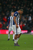 Football - 2017 / 2018 Premier League - AFC Bournemouth vs. West Bromwich Albion<br /> <br /> Salomon Rondon of West Bromwich Albion at the final whistle at Dean Court (Vitality Stadium) Bournemouth <br /> <br /> COLORSPORT/SHAUN BOGGUST