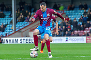 Scunthorpe United forward Lee Novak  during the The FA Cup 1st round match between Scunthorpe United and Burton Albion at Glanford Park, Scunthorpe, England on 10 November 2018.