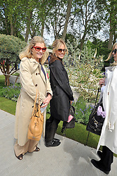 SIENNA MILLER and her mother JO MILLER at the RHS Chelsea Flower Show 2009 held inthe gardens of the Royal Hospital Chelsea on 18th May 2009.