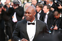 Jimmy Jean-Louis attends the gala screening of Lawless at the 65th Cannes Film Festival. The screenplay for the film Lawless was written by Nick Cave and Directed by John Hillcoat. Saturday 19th May 2012 in Cannes Film Festival, France.