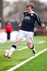 Falkirk's David Weatherston..Airdrie United 0 v 1 Falkirk, 30/3/2013..©Michael Schofield..