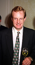 The EARL OF DERBY at a luncheon in London on 8th December 1999.<br /> MZW 19