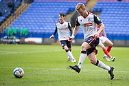 Bolton Wanderers forward Eóin Doyle (9) during the EFL Sky Bet League 2 match between Bolton Wanderers and Cheltenham Town at the University of  Bolton Stadium, Bolton, England on 16 January 2021.