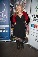 Nicole Faraday at  the Ask the Cheat film screening. Crowne Plaza London Docklands.