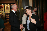 Charles Saumeraz Smith and Sadie Coles , Georg Baselitz, Royal Academy. 18 September 2007. -DO NOT ARCHIVE-© Copyright Photograph by Dafydd Jones. 248 Clapham Rd. London SW9 0PZ. Tel 0207 820 0771. www.dafjones.com.