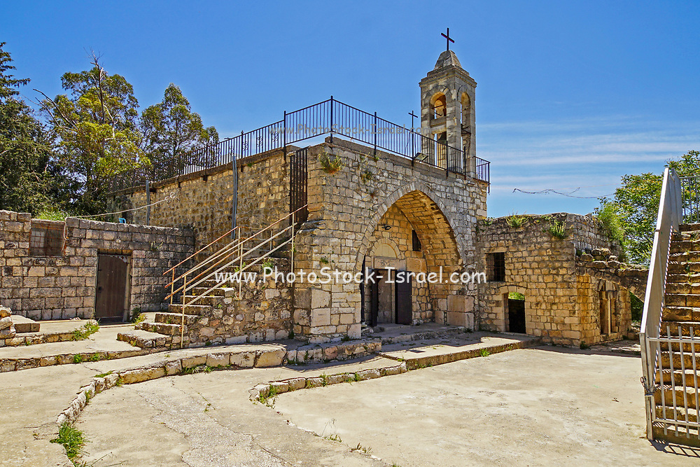 The Maronite church and belfry of Kafr Bir'im. Kafr Bir'im, also Kefr Berem, was a Palestinian Arab village in Mandatory Palestine, located in modern-day northern Israel, 4 kilometers (2.5 mi) south of the Lebanese border. The Arab inhabitants were expelled in 1948 and till today have not been allowed to return