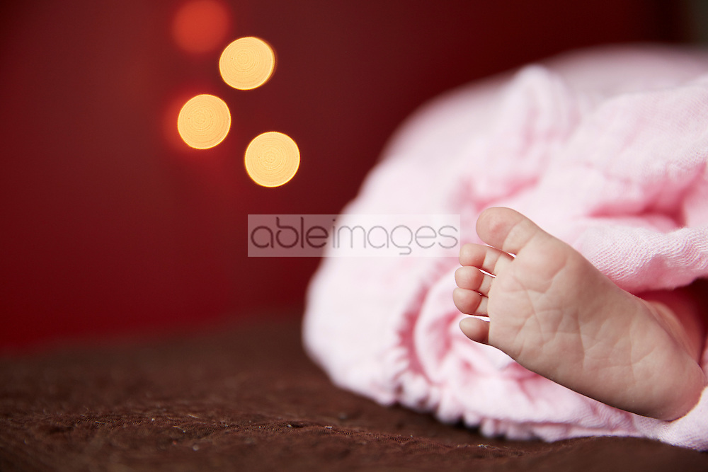 Close up of Baby's Foot