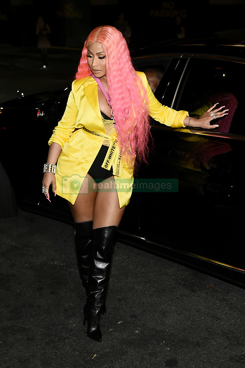 Nicki Minaj attends the NYFW Kick-Off Party hosted by E! Entertainment, ELLE & IMG at The Pool, The Seagram Building,. 05 Sep 2018 Pictured: Nicki Minaj. Photo credit: Al Pastor / MEGA TheMegaAgency.com +1 888 505 6342