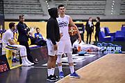 Cotton Tekele Stojanovic Vojislav<br /> FIAT Torino - Vanoli Basket Cremona<br /> Lega Basket Serie A 2018-2019<br /> Torino 28/04/2019<br /> Foto M.Matta/Ciamillo & Castoria