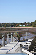Canada, New Brunswick, The City of Saint John low tide at Saint John River
