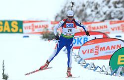 Slovenian athlete Peter Dokl at Men 20 km Individual at E.ON Ruhrgas IBU World Cup Biathlon in Hochfilzen (replacement Pokljuka), on December 18, 2008, in Hochfilzen, Austria. (Photo by Vid Ponikvar / Sportida)