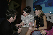 Tom Hollander, Maria Papas and Dixie Chassay, The 25th hour post party at the Plaza on the River, 18 Albert Embankment. Culmination of the 24 Hour Plays Celebrity Gala at the Old Vic.London. 8 October 2006.  -DO NOT ARCHIVE-© Copyright Photograph by Dafydd Jones 66 Stockwell Park Rd. London SW9 0DA Tel 020 7733 0108 www.dafjones.com