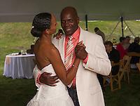 Jen and Tony's Wedding Day.  First Dance ~ Reception.  York, Maine.  ©2015 Karen Bobotas Photographer