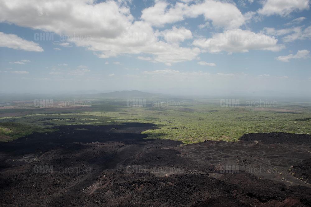 Vista dal vulcano Cierro Negro sul municipio di Leon<br /> 25 maggio  2016 . Daniele Stefanini /  OneShot