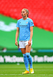 Janine Beckie of Manchester City Women- Mandatory by-line: Nizaam Jones/JMP - 29/08/2020 - FOOTBALL - Wembley Stadium - London, England - Chelsea v Manchester City - FA Women's Community Shield