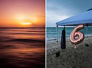 Seascapes in Miami Beach, Florida on Saturday, February 6, 2021.