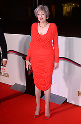 Prime Minister Theresa May arriving at The Millies 2016, Guildhall, London. Picture Credit Should Read: Doug Peters/EMPICS Entertainment