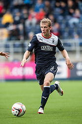Falkirk's Stephen Kingsley.<br /> Falkirk 2 v 1 Queen of the South, Scottish Championship 5/10/2013, played at The Falkirk Stadium.<br /> ©Michael Schofield.