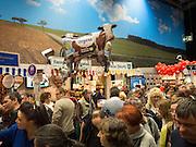Den tyske avdelingen, med mat og drikke fra ulike delstater, Grüne Wocke, Grønn uke, Green week, international, internasjonal, matmesse, Berlin