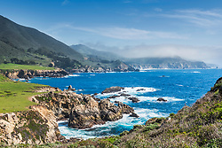 Rocky Point, Big Sur Coast. The jagged coastline of California's Central Coast is one of the prettiest drives in the world.