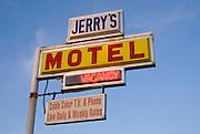 Jerry's Motel, Oakdale, California